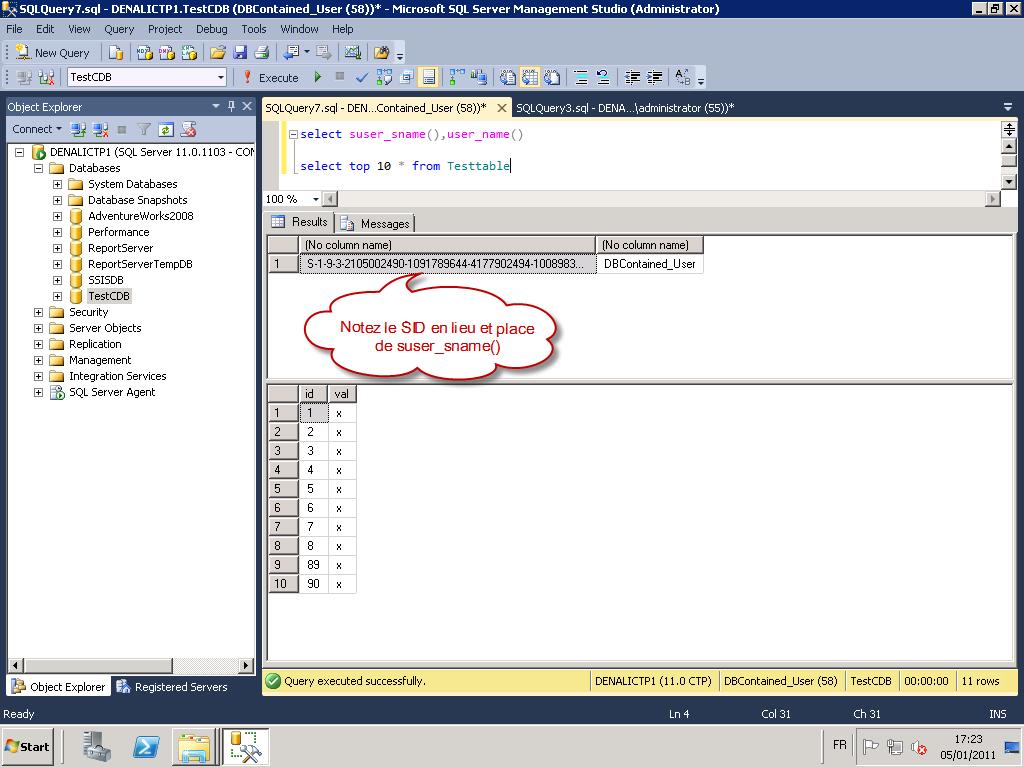 Sql Server Denali Contained Databases Christophe Laporte